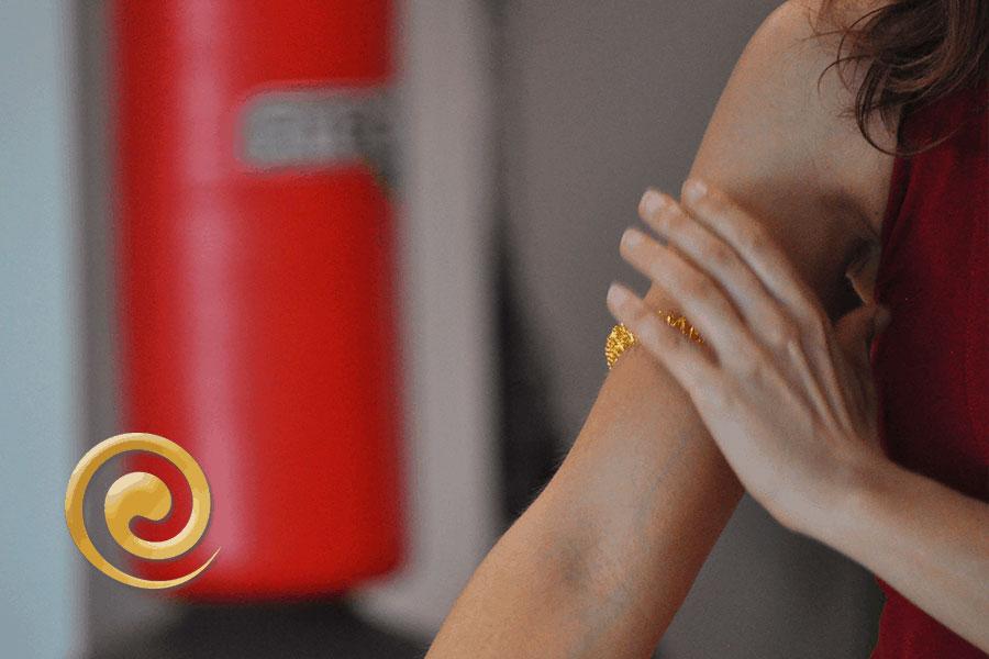 Esempio di utilizzo Bracciale Auramat® | Auramat® - Rigenerazione e Auto Massaggio