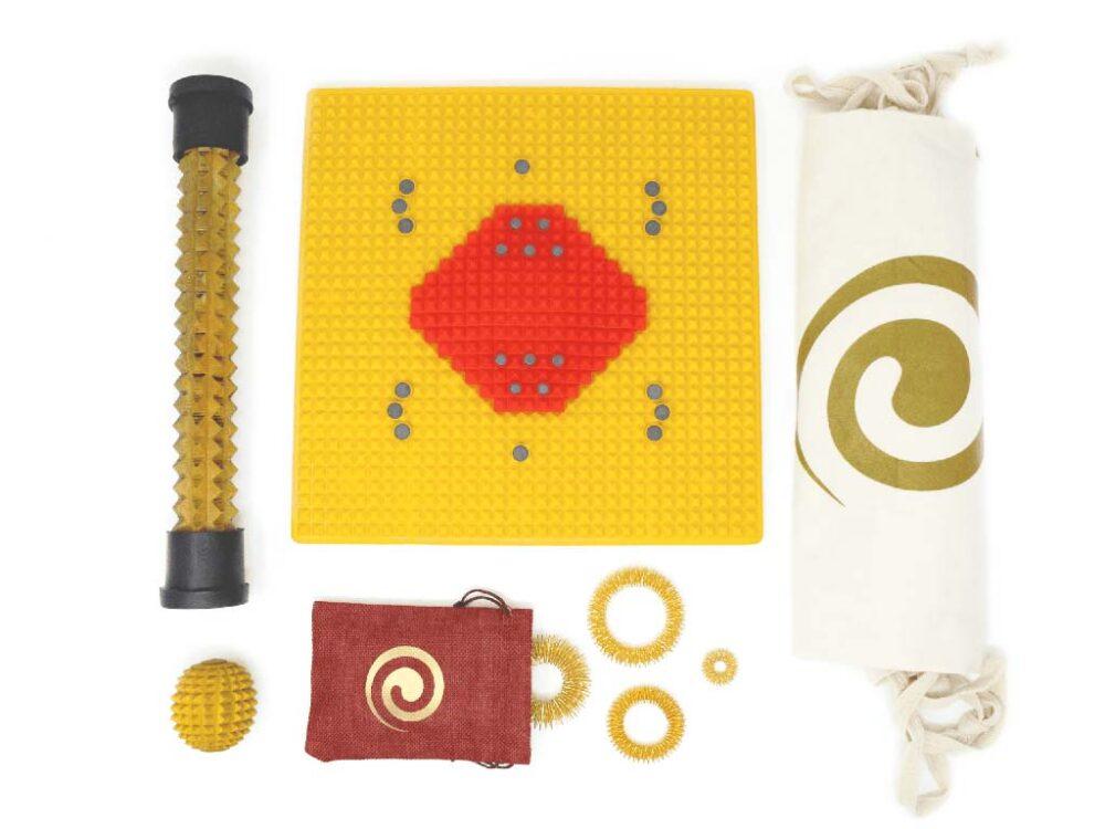 Kit Combo Auramat® Rosso | Auramat® - Rigenerazione e Auto Massaggio